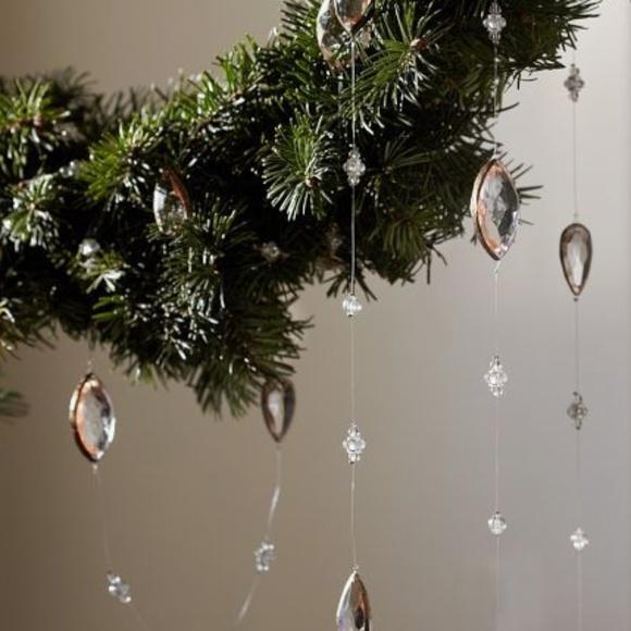 Pottery Barn Christmas.Nwt Pottery Barn Christmas Tree Jewel Garland Nwt
